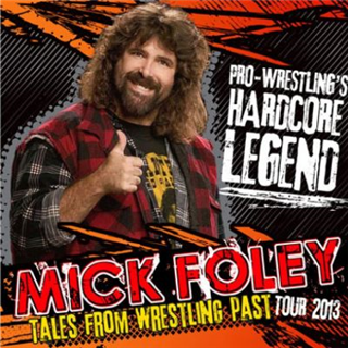 Mick Foley Dinner Package