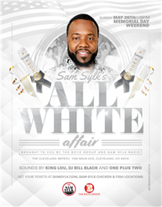 Sam Sylk's All White Affair